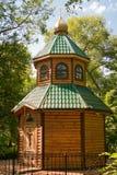 Nadkladeznaya教堂修建了圣洁传道者彼得和保罗的教会 Luban列宁格勒地区 库存图片
