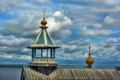 Nadkladeznaya chapel Great Nikita Stock Photo