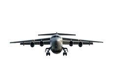 nadlatuje samolot Zdjęcie Royalty Free
