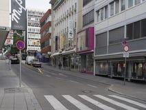 Nadler street, Stuttgart Royalty Free Stock Image