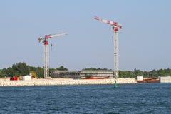 Nadmorski budowa Obraz Royalty Free