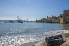 Nadmorski i port akr, Izrael zdjęcie stock