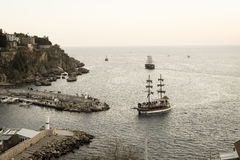 Nadmorski i statki zdjęcia stock