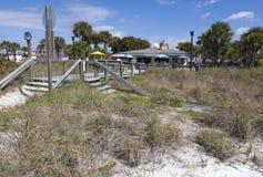 Nadmorski kawiarnia w Floryda obraz stock