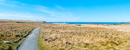 Nadmorski krajobraz Zdjęcie Stock