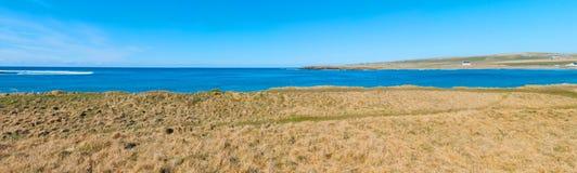 Nadmorski krajobraz Zdjęcia Stock