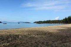 Nadmorski krajobraz Zdjęcia Royalty Free