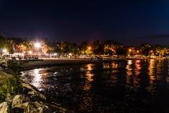 Nadmorski lata miasta linia horyzontu - Turcja Zdjęcie Royalty Free