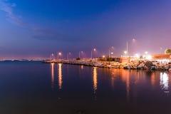 Nadmorski lata miasta sceneria - Turcja Obraz Royalty Free