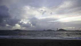 Nadmorski miasteczko Turgutreis i spektakularni zmierzchy zdjęcie wideo