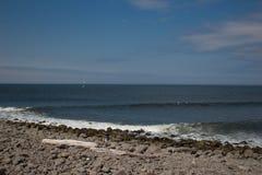 Nadmorski Oregon plaża Zdjęcie Royalty Free