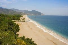Nadmorski plaża Fotografia Royalty Free