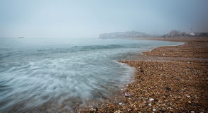 Nadmorski plaża Fotografia Stock