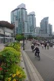 Nadmorski przy Vancouver węgla schronieniem Zdjęcia Royalty Free