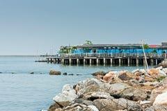 Nadmorski restauracja Zdjęcia Royalty Free