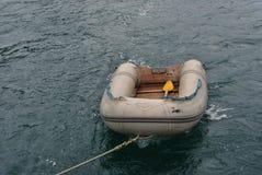 Nadmuchiwana łódź Obrazy Stock