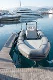 Nadmuchiwana łódź Zdjęcia Royalty Free