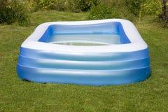Nadmuchiwany pływacki basen Obraz Royalty Free