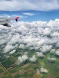 Nadokiennego siedzenia widok wziąć pasażerem obrazy royalty free