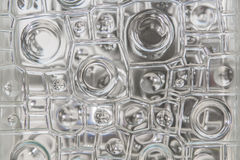 Nadokiennego szkła tekstury abstrakta wzór dla tła Obraz Royalty Free