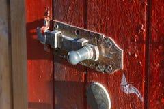 nadokienni żaluzja kędziorki i drzwiowe rękojeści obrazy royalty free