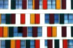 Nadokienny fasadowy abstrakt Zdjęcia Royalty Free