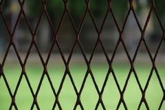 NADOKIENNY klatka ogród Zdjęcia Stock