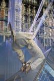 Nadokienny pokaz pokazuje mannequin Zdjęcie Stock