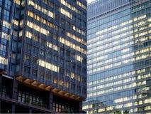 Nadokienny szkło i budynek Zdjęcie Stock