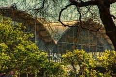 Nadrazi hlavni главного ж-д вокзала Праги стоковое изображение