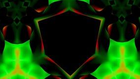 Nadrealistyczny abstrakcjonistyczny tło Abstrakcjonistyczny kalejdoskopu wzór dla projekta Fotografia Royalty Free
