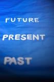 Nadruk aan toekomst stock afbeeldingen