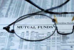 Nadruk bij beleggingsmaatschappij het investeren royalty-vrije stock foto's