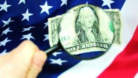 Nadruk op de economie van de V.S. royalty-vrije stock afbeelding