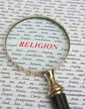 Nadruk op godsdienst. royalty-vrije stock afbeelding