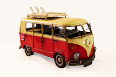nadużywający jako chłopiec samochodowy fotografa zabawki rocznik Fotografia Royalty Free