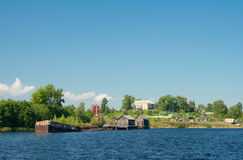 Nadvoitsy township, Karelia Royalty Free Stock Photos
