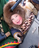 Nadym, Ρωσία - 11 Μαρτίου 2005: η εθνική εορτή, η ημέρα Στοκ φωτογραφία με δικαίωμα ελεύθερης χρήσης
