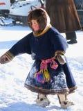Nadym, Rusland - Maart 2, 2007: de nationale feestdag, de dag van Royalty-vrije Stock Afbeelding
