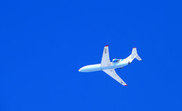 Nadym, Russia - April 12, 2008: Passenger plane. Stock Photography