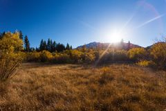 Nadziei dolina, Kalifornia, Stany Zjednoczone obrazy royalty free