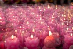 Nadziei świeczka Zdjęcia Royalty Free