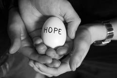 nadzieja. fotografia stock