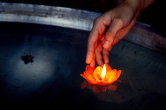 Nadzieja, modlitwa fotografia stock