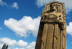 Nadzieja pomnika most w Cleveland zdjęcie royalty free