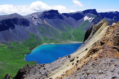 nadziemski jezioro Zdjęcie Royalty Free