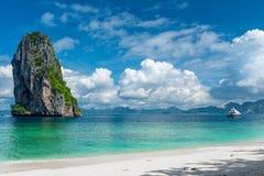 Nadziemski miejsce w fotografii - przedkłada wyspę obraz royalty free