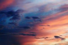 nadziemski niebo Fotografia Stock