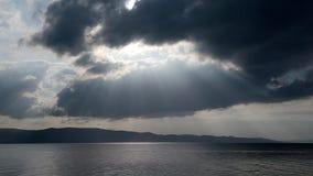 Nadziemski piękny jezioro obrazy royalty free