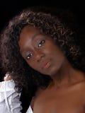 nadzy czarny klatki piersiowej portreta kobiety potomstwa zdjęcia royalty free